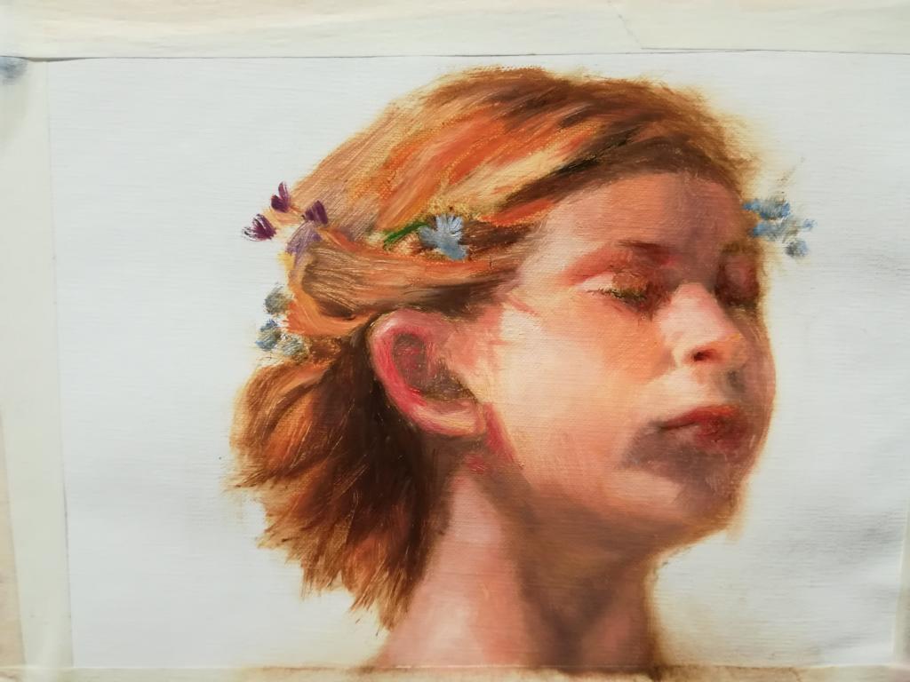 Copy after Todorovitsch - by Sara Calcagno