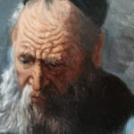 After Rembrandt - Portrait of an Old Man - Sara Calcagno