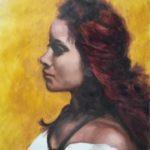 Portrait of Cassandra by Sara Calcagno